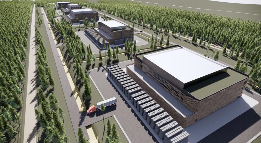 NDC data center Sweden