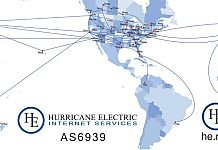 Hurricane Electric global network