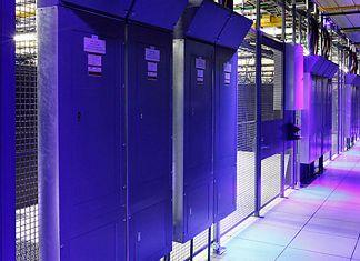 Equinix data center inside