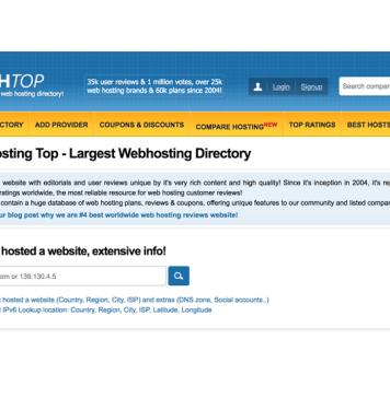 WHTop.com screenshot