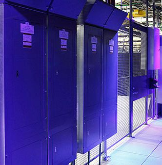 Equinix data center inside