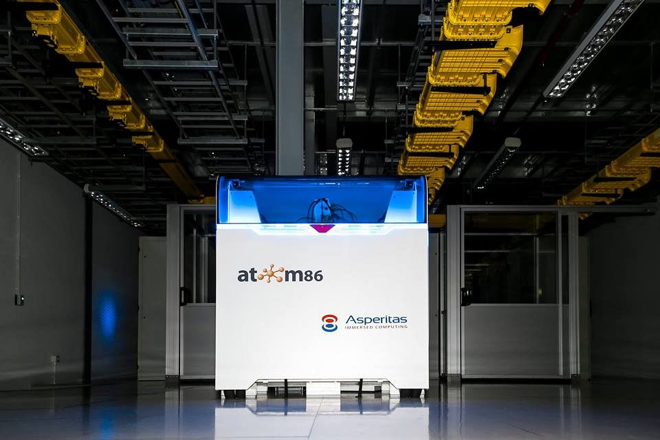 Atom86 Data Center Asperitas Immersed Computing