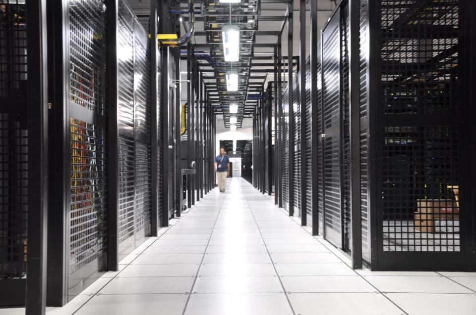 RagingWire Data Centers inside Sacramento, CA