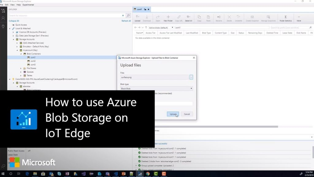 How to use Azure Blob Storage on IoT Edge - Hosting Journalist com
