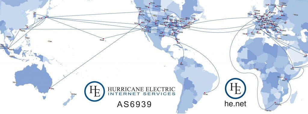 Hurricane Electric network
