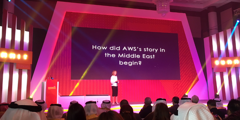 AWS Bahrein Middle East