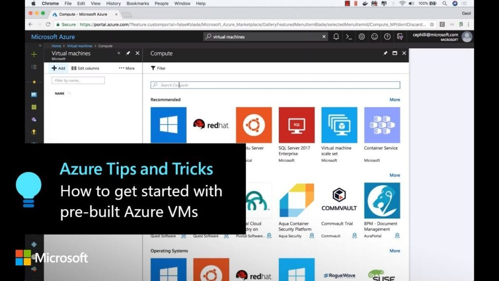 How to get started with pre-built Azure VMs | Azure Tips and