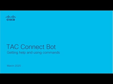 Tac Connect Bot Getting Help And Using Commands Internet