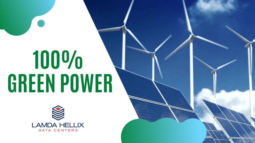 100% Green Power
