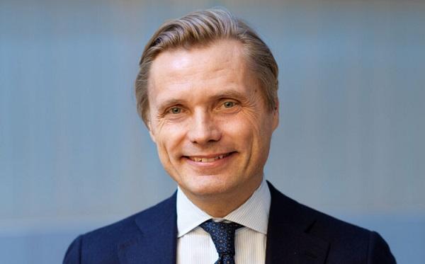 Photo Fredrik Jejdling, vice-président exécutif et responsable des réseaux, Ericsson